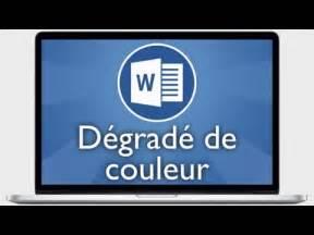 Faire Un Dégradé : tutoriel word 2013 faire un d grad de couleur dans une ~ Melissatoandfro.com Idées de Décoration