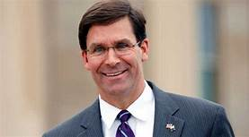 mark Esper to be replaced