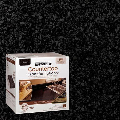 rustoleum countertop transformations rust oleum transformations 70 oz onyx large countertop