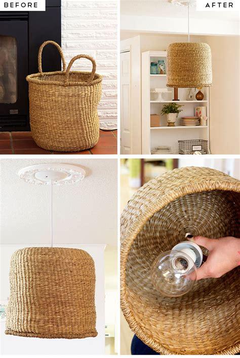 diy ideas for kitchen simple diy kitchen decoration ideas 9 diy basket pendant