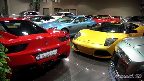 supercars   squeeze   showroom exotic