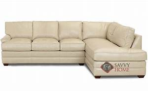 gold coast leather chaise sectional by savvy is fully With gold leather sectional sofa