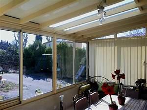 store d39interieur pour veranda technicite et esthetique With amenagement interieur d une veranda