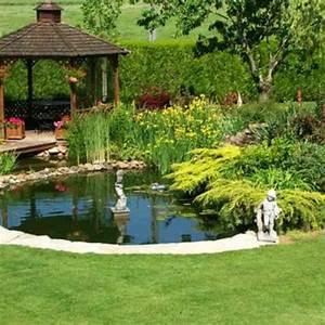 Fontaine De Jardin Pas Cher : bassin hors sol pas cher fabriquer un bassin de jardin ~ Carolinahurricanesstore.com Idées de Décoration