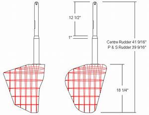 Pt Boat Rudder