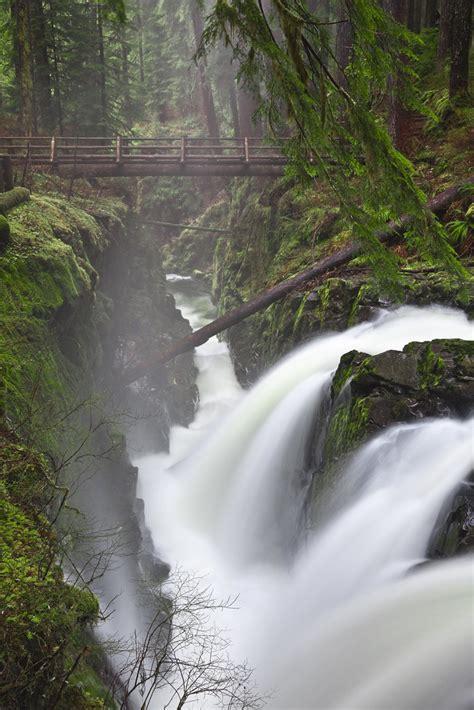 sol duc falls  olympic national park sol duc falls