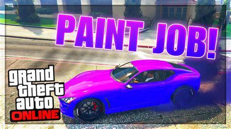 gta  paint jobs fluorescent purple paint job