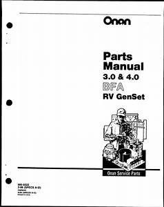 Onan 4 0 Rv Genset Wiring Diagram