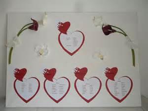 plan de table mariage gratuit plan de table pour mariage sur toile enduite thème amour quot modèle cupidon quot 8 tables