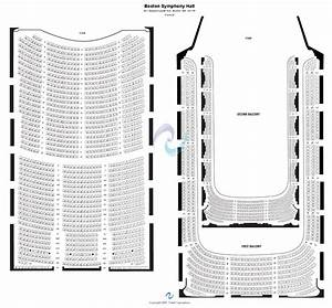 Seating Chart For Symphony Hall Boston Boston Symphony Hall Seating Chart Boston Symphony Hall