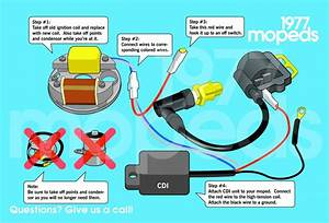 Re  Wiring Diagram For Minarelli V1 With A Pietcard Cdi Conversion         U2014 Moped Army