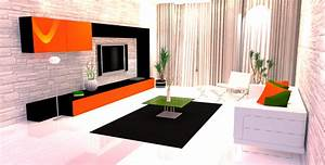 awesome modele de salon simple ideas lalawgroupus With deco moderne
