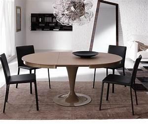 Tisch Ausziehbar Holz : ozzio design runder ausziehbarer tisch eclipse t310 ~ Frokenaadalensverden.com Haus und Dekorationen