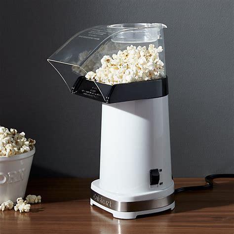 cuisinart hot air popcorn maker reviews crate  barrel