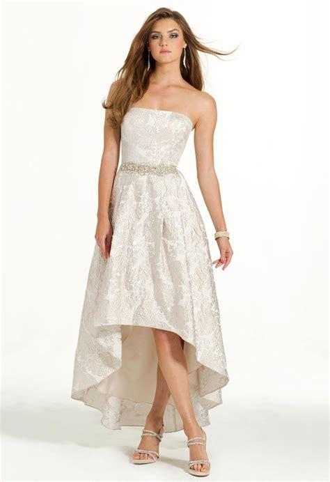 strapless brocade   dress prom dresses classic