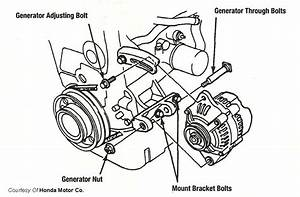 Alternator Mounting Diagram