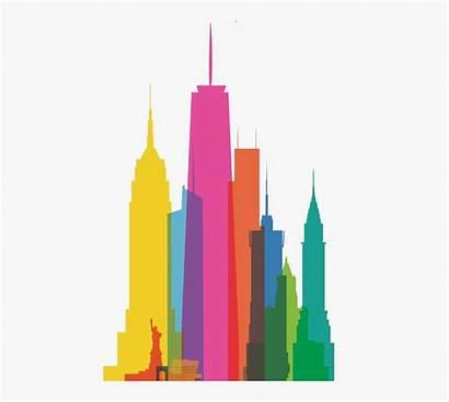 York Skyline Clipart Clip Graphic Cartoon Netclipart