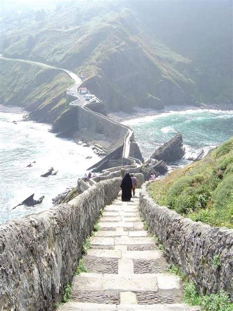 Gaztelugatxe On The Coast Of Biscay Basque Country Spain