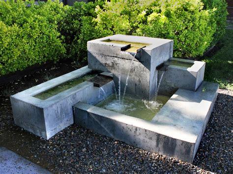 concrete waterfalls design kingbird design llc concrete fountain design landscape pinterest concrete fountains