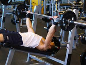 Decline Bench Press by The One Stop Shopping Chest Workout A S Guide To