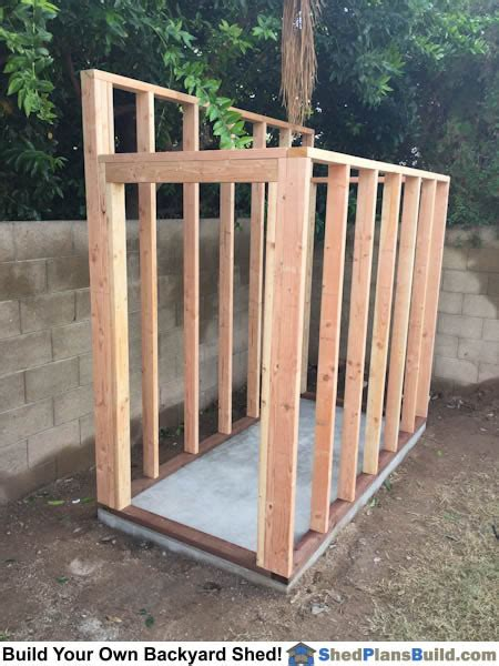 Lean to Shed Plans 8X10