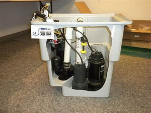 U0026quot Dual Pump Pack U0026quot  Sump Pump System With Battery Backup And