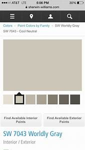 Paint Color For Interior Of House QuotWorldly Grayquot By