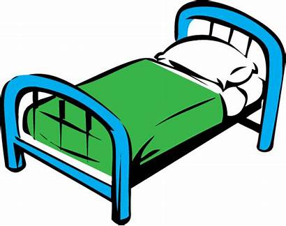 Bed Cartoon Clipart Clip Beds Making Cliparts
