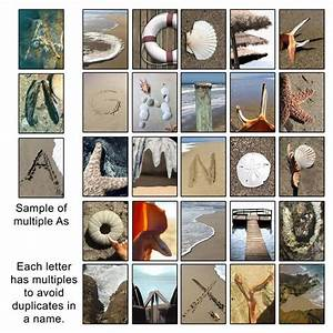 letter art photography beach scene canvas seascape With letter art photography beach