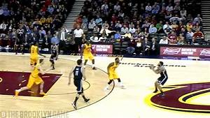 Deron Williams Hits 3 from the Cavs Logo -- Nets vs Cavs 3 ...