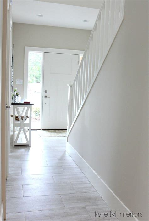 paint color for the hallway the 3 best not boring paint colours to brighten up a hallway benjamin edgecomb gray