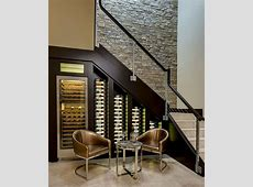 20 EyeCatching Under Stairs Wine Storage Ideas