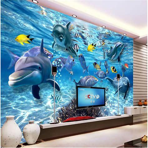 na zakaz foto oboi  stereo podvodnyy mir morskoy ryby