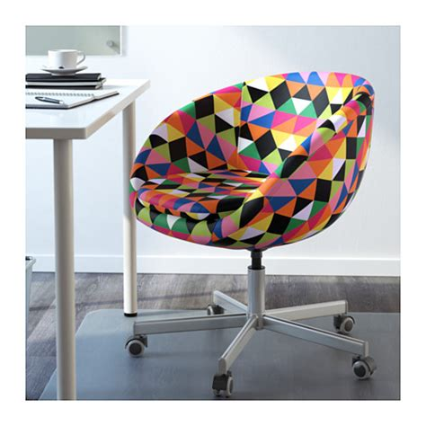 chaise multicolore skruvsta swivel chair majviken multicolor ikea