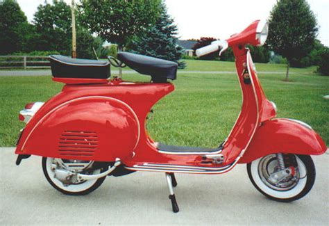After - 1964 Vespa Allstate | This is the after photo. We ...