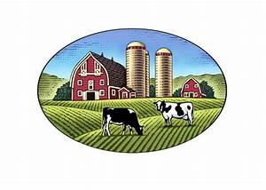 Steven Noble Illustrations  Dairy Farm