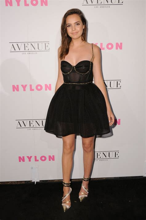 bailee madison nylon young hollywood party  los
