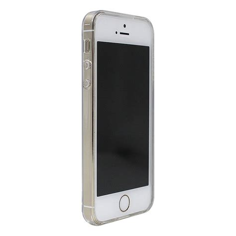 clear iphone 5 luvvitt clearview slim clear back with bumper for