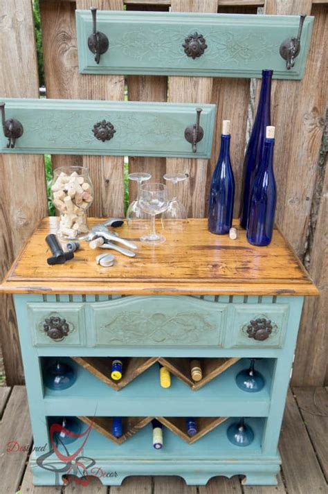 Diy Bar Furniture by Dresser To Wine Bar Designed Decor