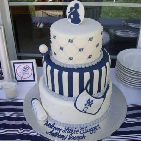 Ny Yankees Baby Baby Shower Cake York Yankees Baby I
