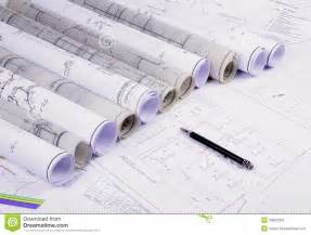architecture plan architectural plans stock image image 26952991