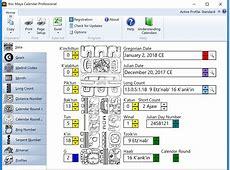 Program Features Xoc Maya Calendar