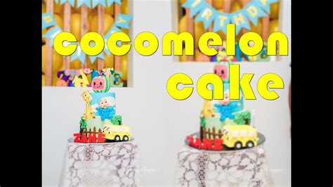 In today's video will be making a cocomelon birthday cake. Cocomelon Cake with Characters - YouTube