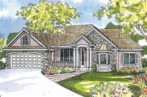 Acadian House Plan With Great Rear Porch