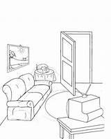 Living Coloring Printable Template Popular sketch template