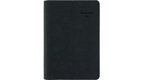 action planner recycled daily appointment book ep glance