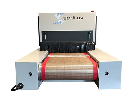 SPDI UV High Intensity LED UV Curing Conveyor System