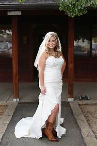 short country wedding dresses with cowboy boots ugbq With country wedding dress with boots