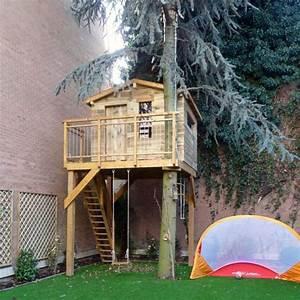 Comment Construire Une Cabane à écureuil : construire une cabane en bois chez soi avec pure aventure ~ Melissatoandfro.com Idées de Décoration