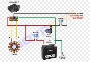 Wiring Diagram Lampu Rem
